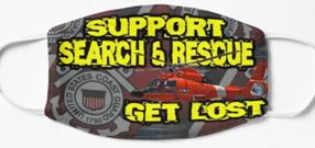 Support Search & Rescue Get Lost Mask