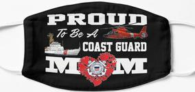 Design #90 - Proud To Be A Coast Guard Mom
