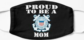 Design #314 - Proud To Be A Coast Guard Mom