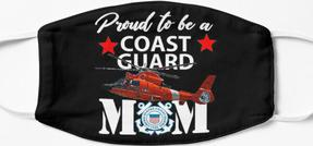 Design #305 - Proud to be a Coast Guard Mom