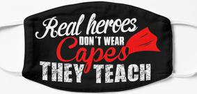 Design #128 - Real Heroes Don't Wear Capes