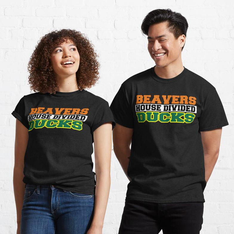 Beavers House Divided Ducks Classic T-Shirt