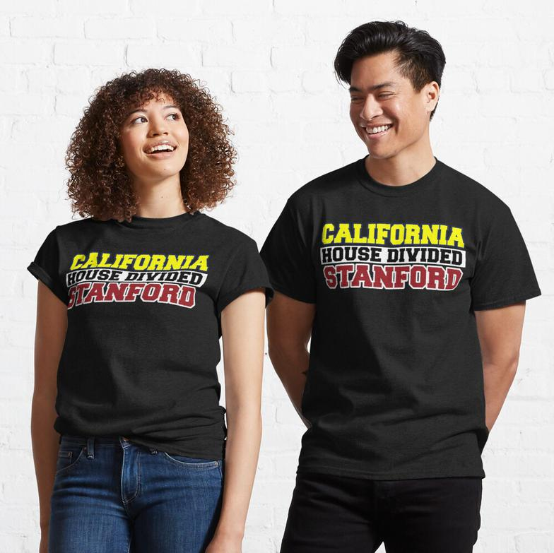 California House Divided Stanford T-Shirt