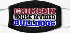 Crimson House Divided Bulldogs Mask