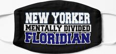 New Yorker Mentally Divided Floridian Mask