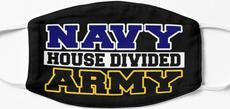 Navy House Divided Army Mask