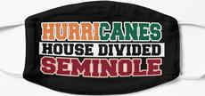 Hurricanes House Divided Seminole Mask