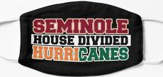Seminole House Divided Hurricanes Mask