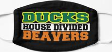 Ducks House Divided Beavers Mask