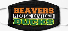 Beavers House Divided Ducks Mask