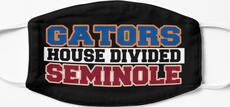 Gators House Divided Seminole Mask
