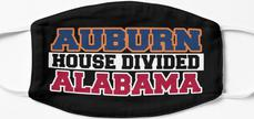 Auburn House Divided Alabama Mask