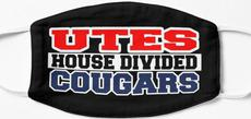 Utes House Divided Cougars Mask