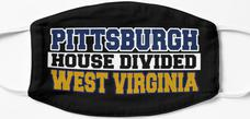 Pittsburgh House Divided West Virginia Mask