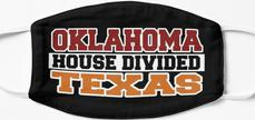 Oklahoma House Divided Texas Mask